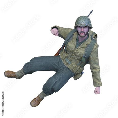 Photo  軍人男性