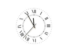 Black Face Clock, Five Minutes To Midnight