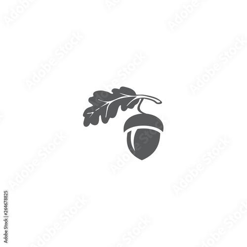 Photo oak logo vector