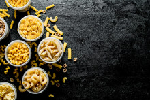 Different Types Of Dry Pasta I...
