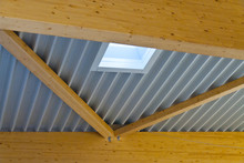Large Wooden Trusses Support T...