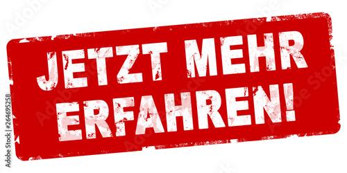 nlsb289 NewLongStampBanner nlsb - german negativ text: Jetzt Mehr erfahren! - St Wallpaper Mural