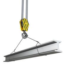Crane Hook With Beam