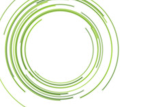 Abstract Green HUD Circles Fut...
