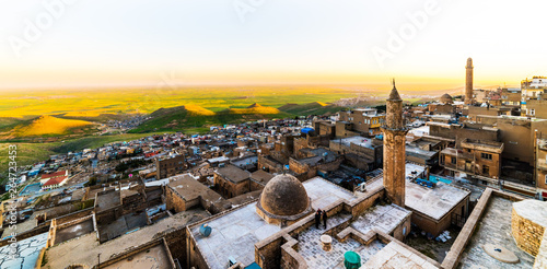 Mardin City in Turkey Wallpaper Mural