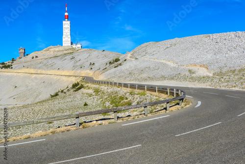 Obraz na plátně Road to Mount Ventoux, Provence, France