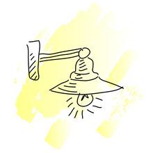 Light Chandelier Vector