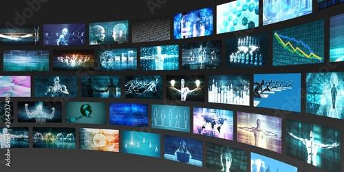 Fotografía Media Technologies Concept