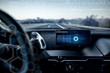 Futuristic Car Interior
