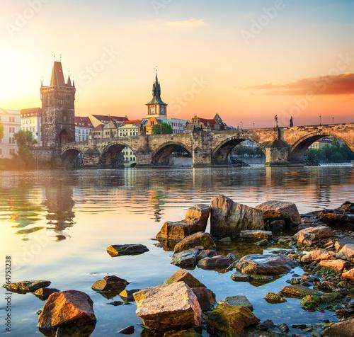 Charles Bridge in Prague Fototapete