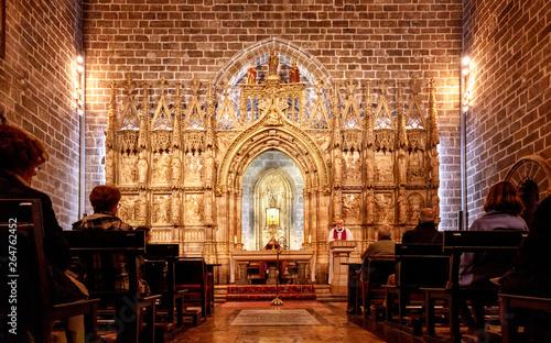 Fotografie, Obraz  Valencia cathedral chapel