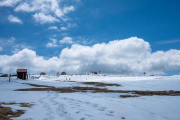 Beautiful Landscape View in Torre, Ski Resort, Serra da Estrela, Castelo Branco, Portugal