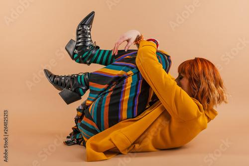 Fotografie, Obraz  Young woman fashion portrait