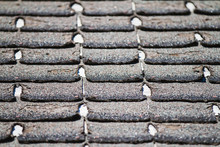 Worn-out Asphalt Shingles On A...