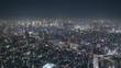 tokyo japan shibuya at night from the sky tree tower