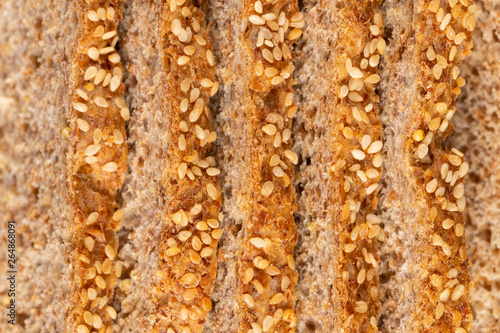 Sprouted Grains Bread Texture фототапет