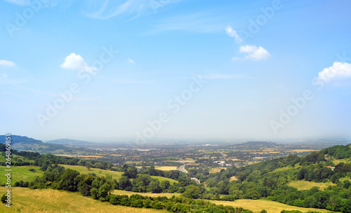 Cotswold Way Valley, England - Magic Barrow wake Viewpoint Canvas-taulu