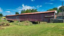 Amish Covered Bridge In Poor Condition