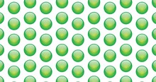 Green Glass Orbs Background Cl...