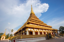 Wat Nong Wang, The Most Famous Temple In Khon Kaen, Thailand