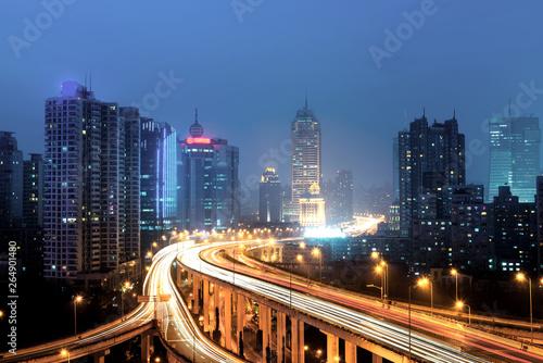 Fototapety, obrazy: Shanghai interchange