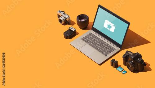Fototapety, obrazy: Professional photography equipment