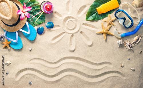 Fotografie, Obraz  Summer holidays concept