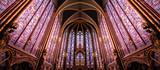 Fototapeta Fototapety Paryż - Paris / Sainte Chapelle - Chapelle haute