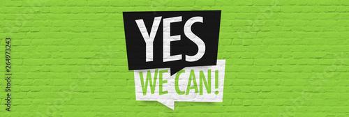 Cuadros en Lienzo  Yes we can