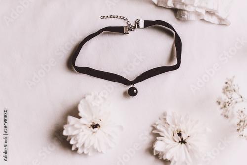 Fotografía black Velvet Choker Necklaces