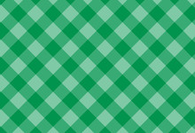 Green Checkered Cotton Backgro...