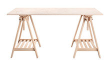 Work Table, Wooden Plywood She...