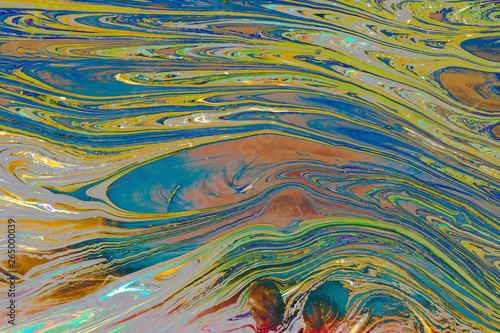 Printed kitchen splashbacks Purple Abstract grunge art background texture with colorful paint splashes.