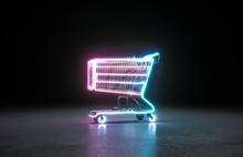 Neon Background. Cyberpunk Ele...