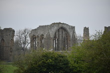 Ruins At Egglestone Abbey