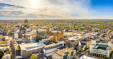 Aerial Panorama Of Allentown, ...