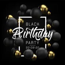 Happy Birthday Card, Party Fly...