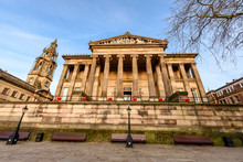 The Harris Museum, Art Gallery & Preston Free Public Library Is A Grade I-listed Museum Building In Preston. Founded By Edmund Harris In 1877