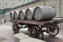 Barrels On The Wagon Wheel