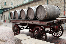 Barrels On The Wagon Wheel