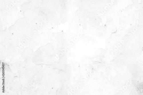 Tuinposter Betonbehang White Grunge Wall Texture Background.