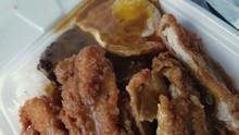 Hawaiian Meal Called Loco Moco...