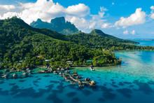 Bora Bora Aerial Drone Video O...