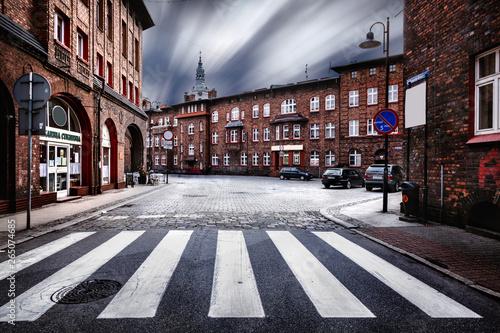 Obraz Katowice - Nikiszowiec - fototapety do salonu