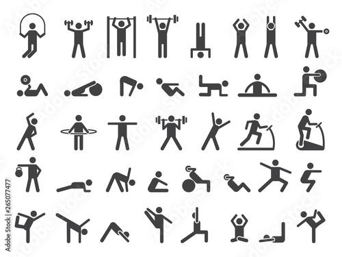Photo Fitness symbols