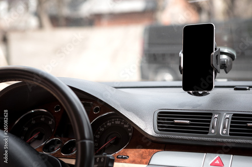 Car smart phone holder Canvas-taulu
