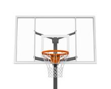Basketball Hoop Isolated