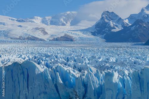 Obraz na plátně Patagonia, Perito Moreno blue glacier El Calafate - Argentina - South America