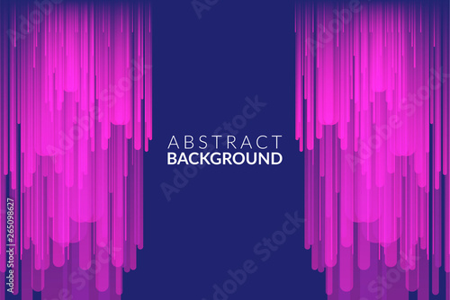 Fototapeta  Distorted Glitch Style Modern Background