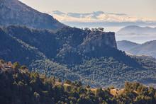 Mountain And Forest Landscape In Sierra De Cazorla, Jaen. Spain